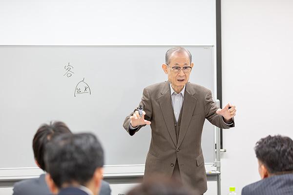 竹田陽一先生 講演の様子